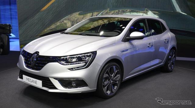 New model Renault Megane (Frankfurt Motor Show 15)