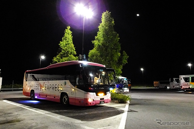 Orix and Wheeler started providing high-speed bus + car rental discounts