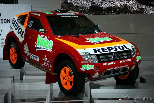 [ปารีส Motor Show 06: Mitsubishi Pajero Evo 2007 ดาการ์... ใหม่ทั้งหมด