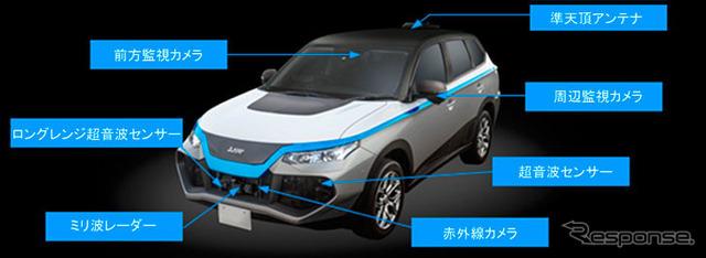 自転車の 車 自動運転 駐車 : ... 自動運転コンセプトカー EMIRAI3