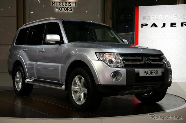 [ปารีส Motor Show 06: ใหม่ Mitsubishi Pajero, Europe's premier