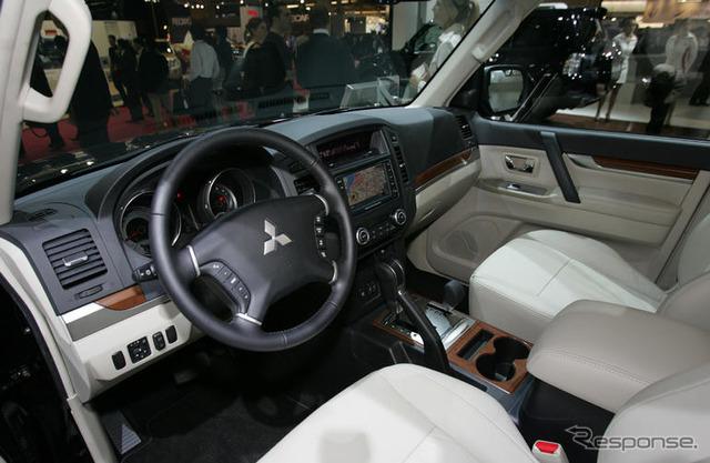 ในทวีปยุโรป [Mitsubishi Pajero ใหม่ประกาศ]