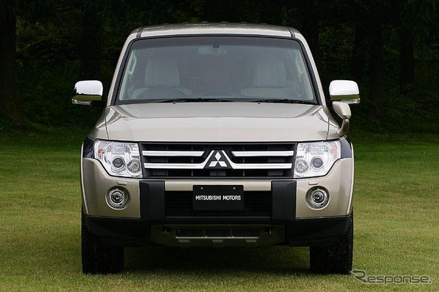 [Mitsubishi Pajero ใหม่ประกาศ] off-road ประสิทธิภาพและวิวัฒนาการ