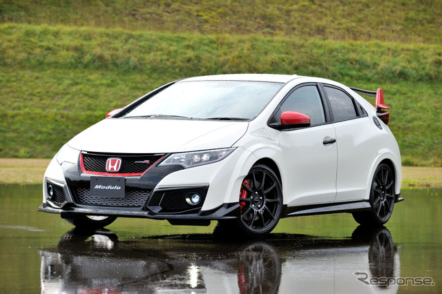 photo feature all new honda civic type r modulo parts. Black Bedroom Furniture Sets. Home Design Ideas