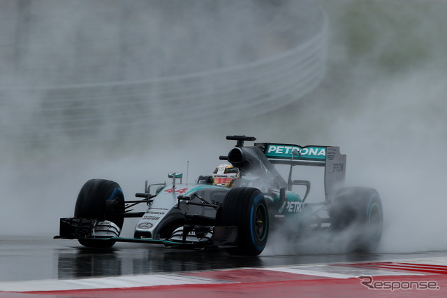 F1-United States GP qualifying postponed due to heavy rain