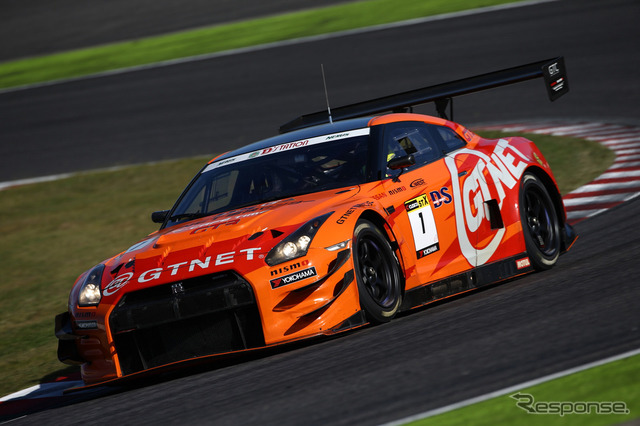 With the overall champion for the first time this season, an No.1GTNET ADVAN gt-r