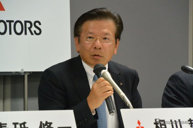Mitsubishi Motors President Tetsuo Aikawa