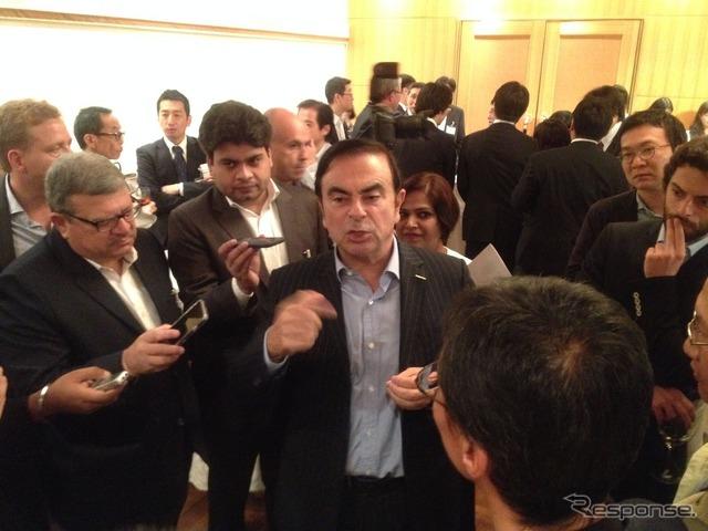 Carlos Ghosn of Nissan Motor Co.