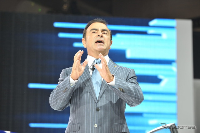 Nissan's President Carlos Ghosn