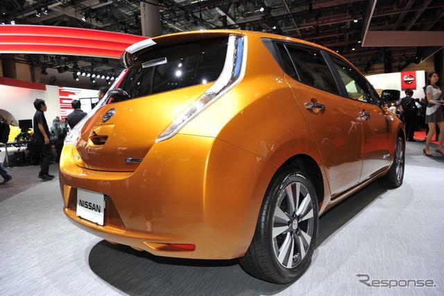 All-new Nissan Leaf (2015 Tokyo Motor Show)