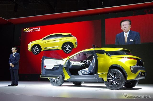 Mitsubishi eX concept (Tokyo Motor Show 15)