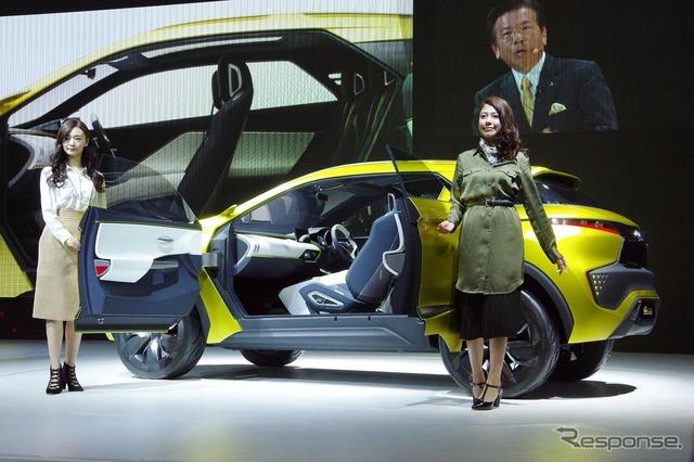 Mitsubishi eX Concept (2015 Tokyo Motor Show)