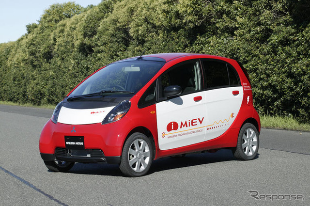 การพัฒนาของ Mitsubishi มอเตอร์ไฟฟ้าพลังงานบริษัท และ collaborator และฉันใช้ EV