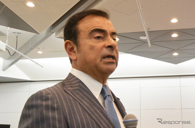 Carlos Renault Nissan CEO Carlos Ghosn (Tokyo Motor Show 15)