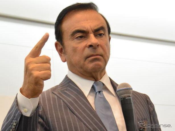 Nissan Motors Carlos Ghosn CEO