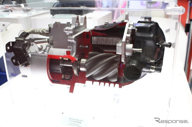 Toyota produced by Toyoda automatic loom for MIRAI electric air compressor