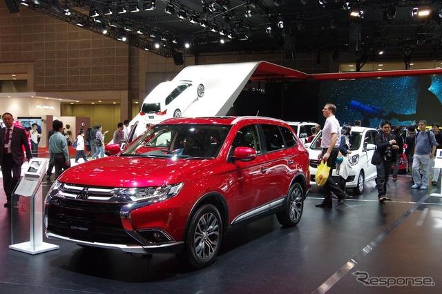 Mitsubishi Booth (Tokyo Motor Show 15)