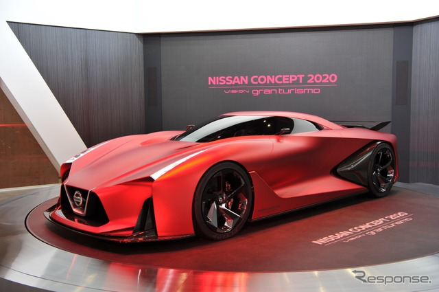 Nissan 2020 vision Gran Turismo (Tokyo Motor Show 15)