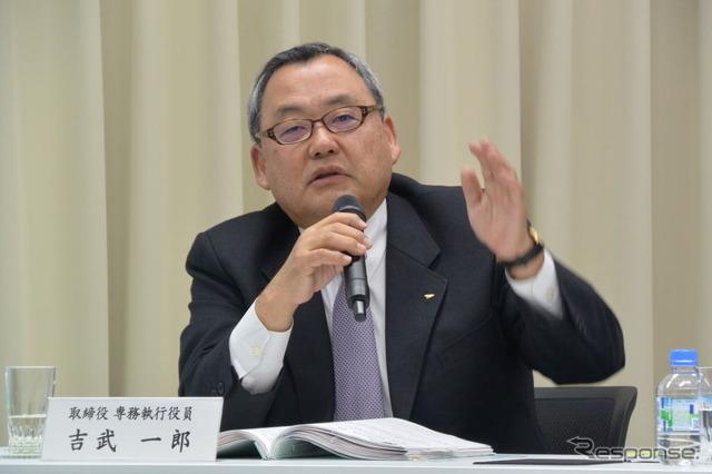 Daihatsu industrial yoshitake, Senior Managing Executive Officer