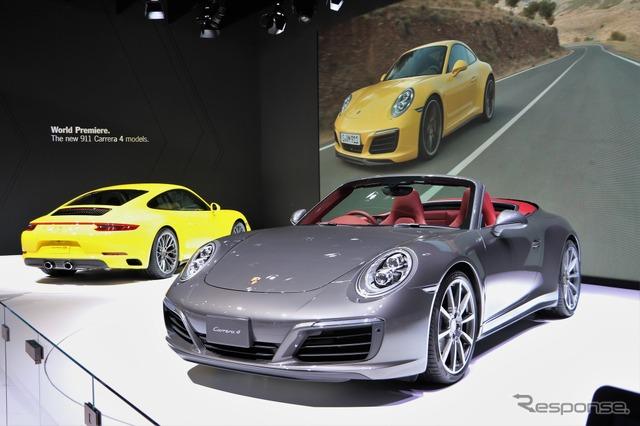 Porsche 911 Carrera 4 cabriolet (Tokyo Motor Show 15)