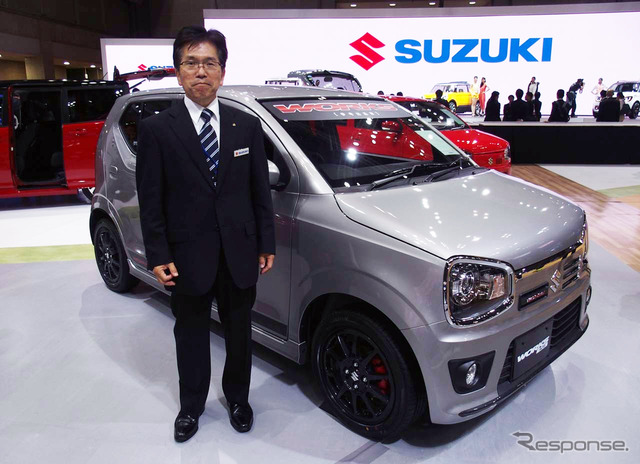 Suzuki Alto Works Chief Engineer Masahiko Mizushima