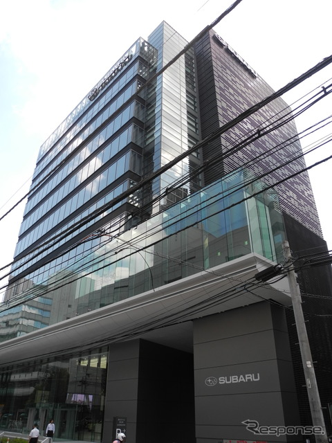 Fuji Heavy Industries Headquarters building located in Ebisu, Tokyo