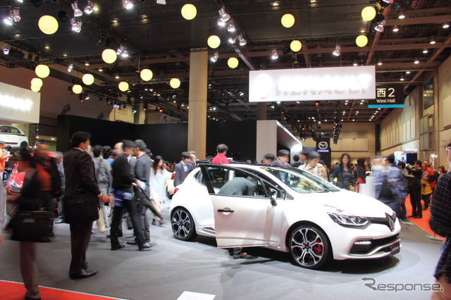 Even during the week Tokyo Motor Show 2015