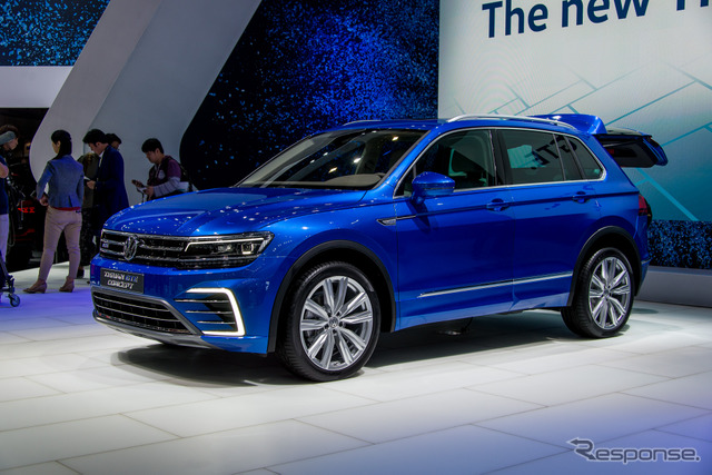 VW Tiguan GTE (Tokyo Motor Show 15)