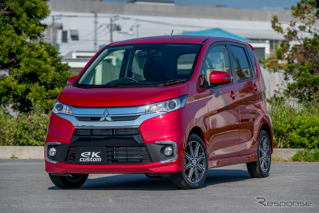 "Mitsubishi eK Custom ""T Safety Package"""