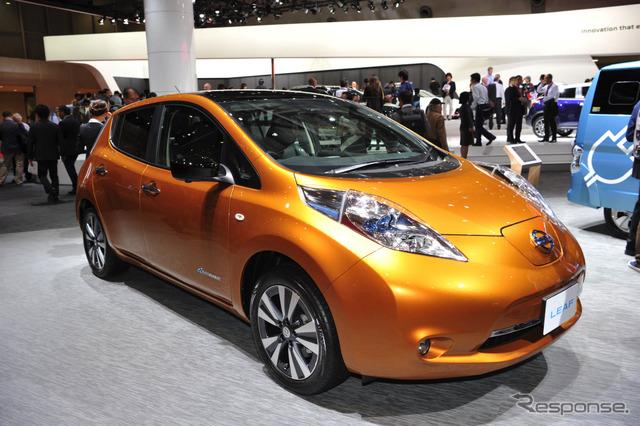 Nissan Leaf (2015 Tokyo Motor Show)
