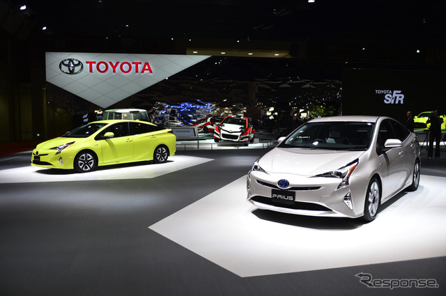 Toyota booth (Tokyo Motor Show 15)