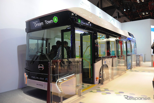 Hino Fuel Cell Bus (2015 Tokyo Motor Show)