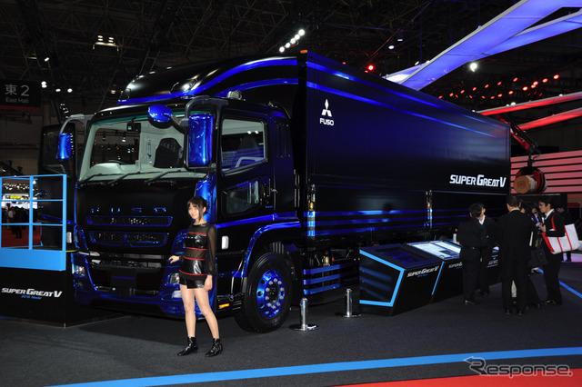 Mitsubishi Fuso super besar tingkat V (Tokyo Motor Show 15)