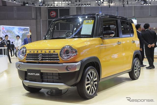Suzuki Hustler J style II (Tokyo Motor Show 15)