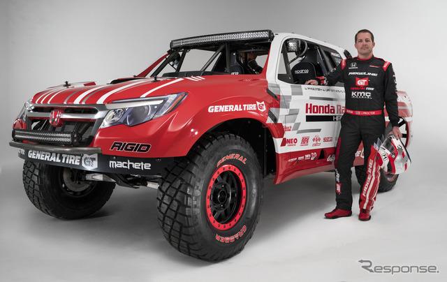 Honda Ridgeline Desert Race Truck Concept