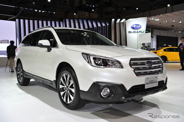 Subaru Legacy Outback Limited Smart Edition (2015 Tokyo Motor Show)
