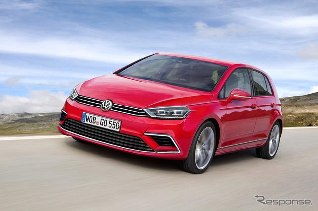Next-generation Volkswagen Golf CG