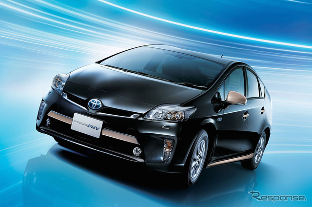 Has appeared in the new Toyota Prius PHV. (Photo-current)
