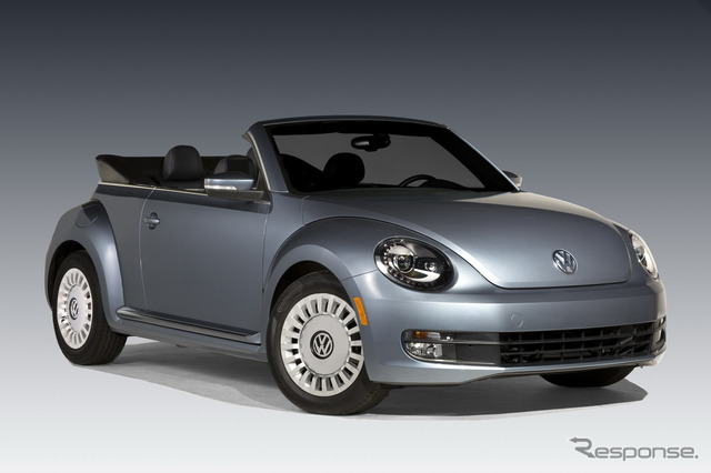 • Dril de algodón de Volkswagen escarabajo cabriolet