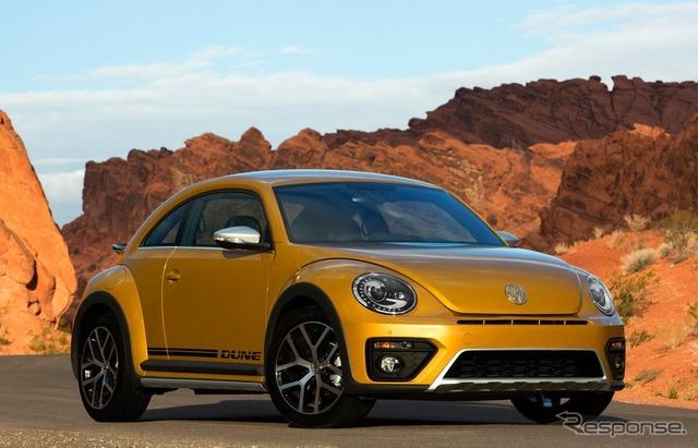 La duna del escarabajo de Volkswagen