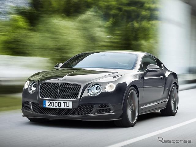 2014 model of the Bentley Continental GT speed
