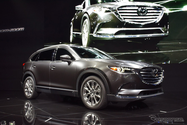 The all-new Mazda CX-9 (2015 Los Angeles Auto Show)