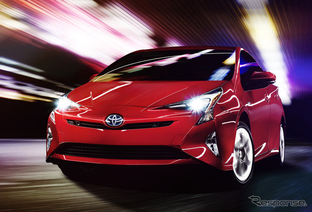 New Toyota Prius (North American model)
