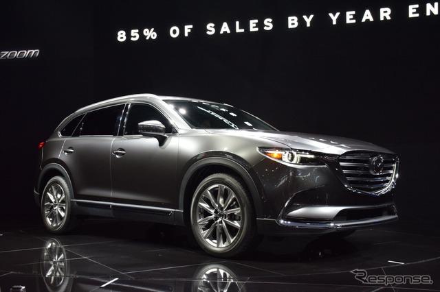 Mazda CX-9 at 2015 Los Angeles Auto Show
