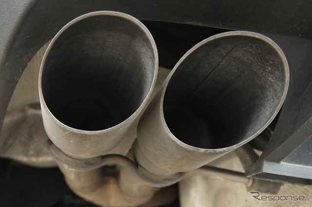 VW exhaust issue (the reference image)