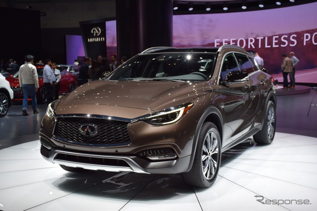 Infiniti QX30 at 2015 Los Angeles Auto Show