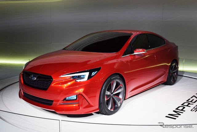 Subaru Impreza sedan concept (Los Angeles motor show 15)
