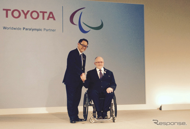 Cravan President Toyoda and IPC