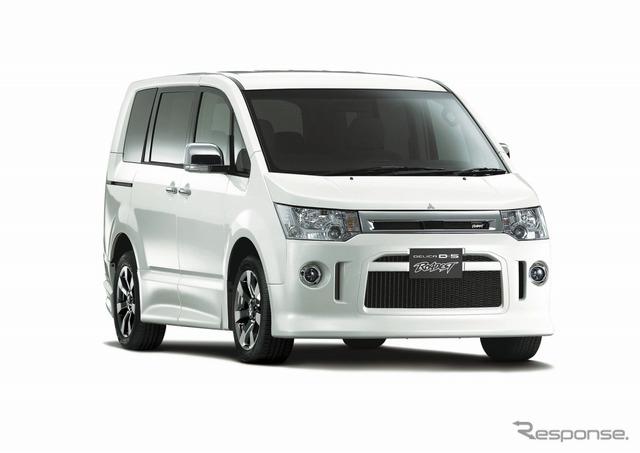 Mitsubishi Delica d: 5 de Rodas a los paquetes de d-power