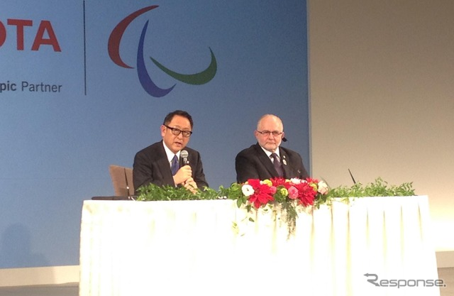 President Toyoda and IPC Chairman Craven